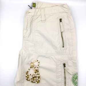 Old  Navy Low Cut Beige Pants 8